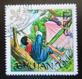 Poštovní známka Bhútán 1971 Skauti Mi# 483