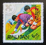 Poštovní známka Bhútán 1971 Skauti Mi# 485
