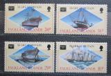 Poštovní známky Falklandské ostrovy 1986 Lodě Mi# 449-52