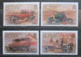 Poštovní známky Falklandské ostrovy 1988 Staré automobily Mi# 476-79 Kat 8€