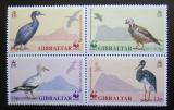Poštovní známky Gibraltar 1991 Ptáci, WWF 112 Mi# 619-22