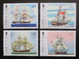 Poštovní známky Gibraltar 2006 Plachetnice Mi# 1173-76