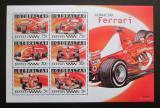 Poštovní známky Gibraltar 2004 Formule 1 Mi# Block 64 Kat 8.50€