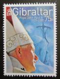 Poštovní známka Gibraltar 2005 Papež Jan Pavel II. Mi# 1137