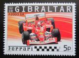 Poštovní známka Gibraltar 2004 Formule F 2003 GA Mi# 1106