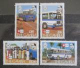 Poštovní známky Gambie 1987 Autobusová doprava Mi# 701-04 Kat 10€