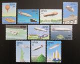 Poštovní známky Grenada 1988 Vzducholodě Mi# 1794-1803 Kat 16€