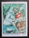 Poštovní známka Grenada Gren. 1986 Umění, Marc Chagall