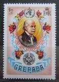 Poštovní známka Grenada 1973 Ignatius Semmelweis, maďarský gynekolog Mi# 533