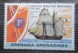 Poštovní známka Grenada Gren. 1976 Plachetnice Lee Mi# 179