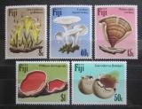 Poštovní známky Fidži 1984 Houby TOP SET Mi# 494-98 Kat 14€