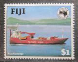 Poštovní známka Fidži 1984 Kontejnerová loď Mi# 511 Kat 3.40€