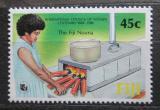 Poštovní známka Fidži 1988 Rada žen, 100. výročí Mi# 579