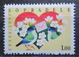 Poštovní známka Estonsko 1993 Pozdravy Mi# 199