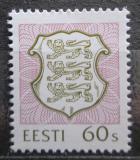 Poštovní známka Estonsko 1993 Státní znak Mi# 211
