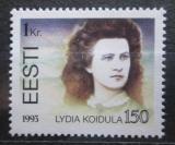 Poštovní známka Estonsko 1993 Lydia Koidula, básnířka Mi# 219