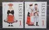 Poštovní známky Estonsko 1994 Lidové kroje Mi# 235-36