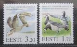 Poštovní známky Estonsko 1995 Ptáci Mi# 245-46