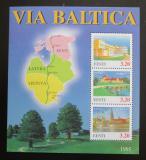 Poštovní známky Estonsko 1995 Hotely Mi# Block 8