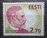 Poštovní známka Estonsko 1995 Louis Pasteur Mi# 259