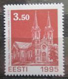 Poštovní známka Estonsko 1995 Kostel v Tallinnu Mi# 271