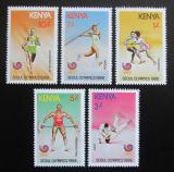 Poštovní známky Keňa 1988 LOH Soul Mi# 447-51