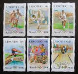 Poštovní známky Lesotho 1987 LOH Soul Mi# 622-27