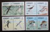 Poštovní známky Kiribati 1993 Ptáci přetisk Specimen Mi# 599-606 Kat 14€