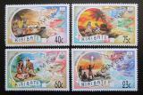 Poštovní známky Kiribati 1993 Vánoce přetisk Specimen Mi# 655-58