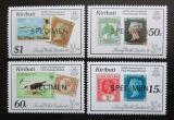 Poštovní známky Kiribati 1990 Výstava LONDON přetisk Specimen Mi# 540-43 Kat 12€