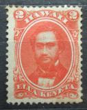 Poštovní známka Havaj 1864 Král Kamehameha IV.Mi# 12 ly Kat 40€