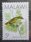 Poštovní známka Malawi 1988 Vousák horský Mi# 503