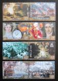Poštovní známky Ostrov Man 2005 Bitva u Trafalgaru Mi# 1183-90 Kat 10€