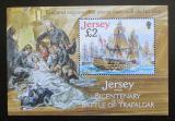 Poštovní známka Jersey, Velká Británie 2005 Plachetnice Victory Mi# Block 52