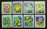 Poštovní známky Jersey, Velká Británie 2006 Květiny Mi# 1247-54 Kat 12€