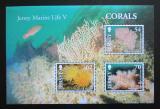 Poštovní známky Jersey, Velká Británie 2004 Korály Mi# Block 46