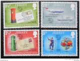 Poštovní známky Jersey 1974 Výročí UPU Mi# 99-102