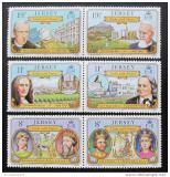 Poštovní známky Jersey 1982 Vazby na Francii Mi# 282-87