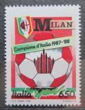 Poštovní známka Itálie 1988 AC Milán Mi# 2051