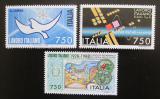 Poštovní známky Itálie 1988 Italské technologie v zahraničí Mi# 2063-65