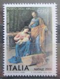 Poštovní známka Itálie 1988 Vánoce, umění, Pasquale Celommi Mi# 2066