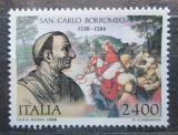 Poštovní známka Itálie 1988 Karel Boromejský Mi# 2067 Kat 4€