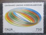 Poštovní známka Itálie 1989 Meziparlamentární unie, 100. výročí Mi# 2091