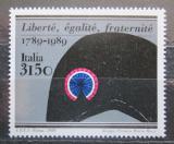 Poštovní známka Itálie 1989 Francouzská revoluce, 200. výročí Mi# 2092 Kat 5€