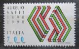 Poštovní známka Itálie 1990 Aurelio Saffi Mi# 2146