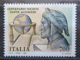 Poštovní známka Itálie 1990 Dante Alighieri, básník Mi# 2153