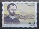 Poštovní známka Itálie 1987 Alfonso Maria de Liguori Mi# 2018