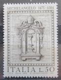 Poštovní známka Itálie 1975 Výklenek, Michelangelo Mi# 1484