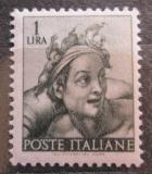 Poštovní známka Itálie 1961 Freska, Michelangelo Mi# 1081