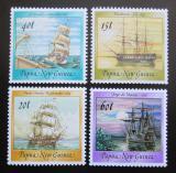 Poštovní známky Papua Nová Guinea 1988 Historické lodě Mi# 561-64